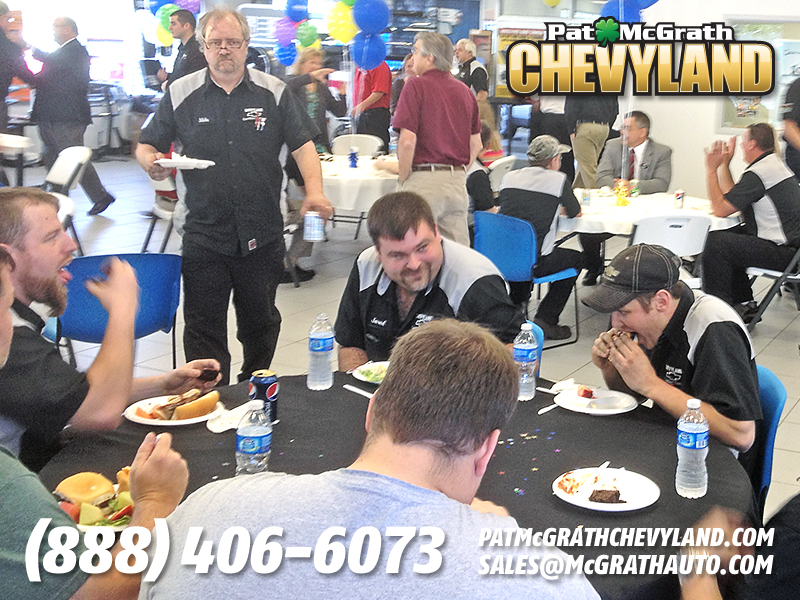 Photos From Chevyland S Dealer Of The Year Luncheon Pat Mcgrath