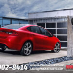 2013 Dodge Dart Rear Quarter