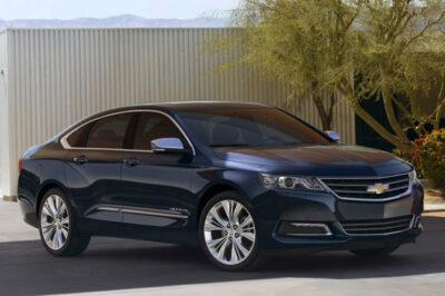 2014 Chevrolet Impala Parked