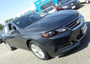 The 2014 Chevy Impala at Pat McGrath Chevyland
