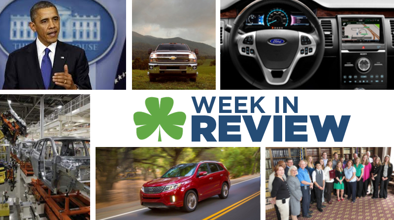 Automotive Week in Review: Sept. 27th, 2013