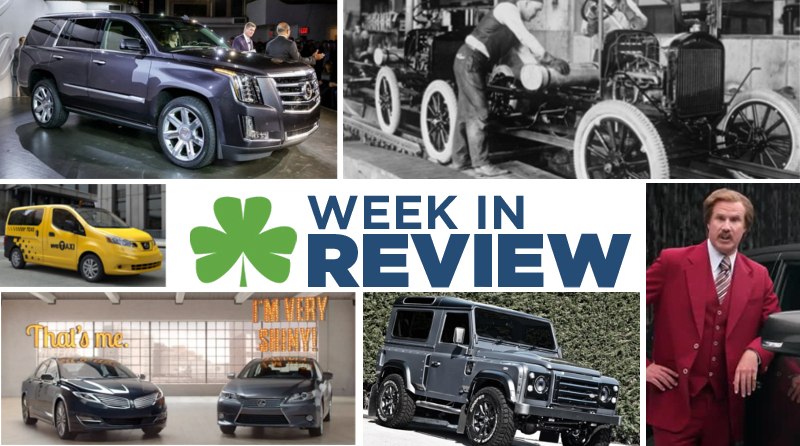 Automotive Week in Review: Oct. 11th, 2013