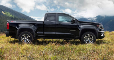Chevy Colorado Parked in field