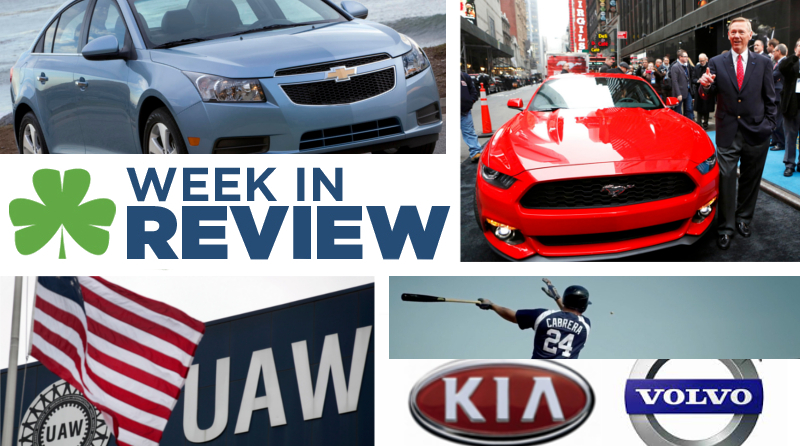 Automotive Week in Review: December 6th, 2013