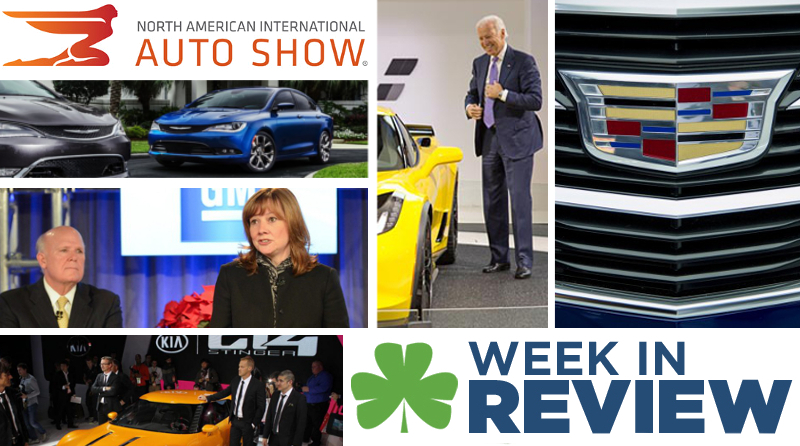 Automotive Week in Review: January 17th, 2014