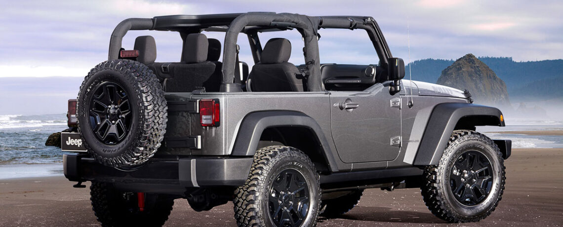 Soft top Jeep Wrangler