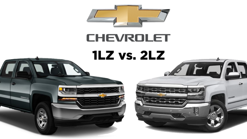 Truck Comparison: Chevy Silverado 1LZ vs Chevy Silverado 2LZ