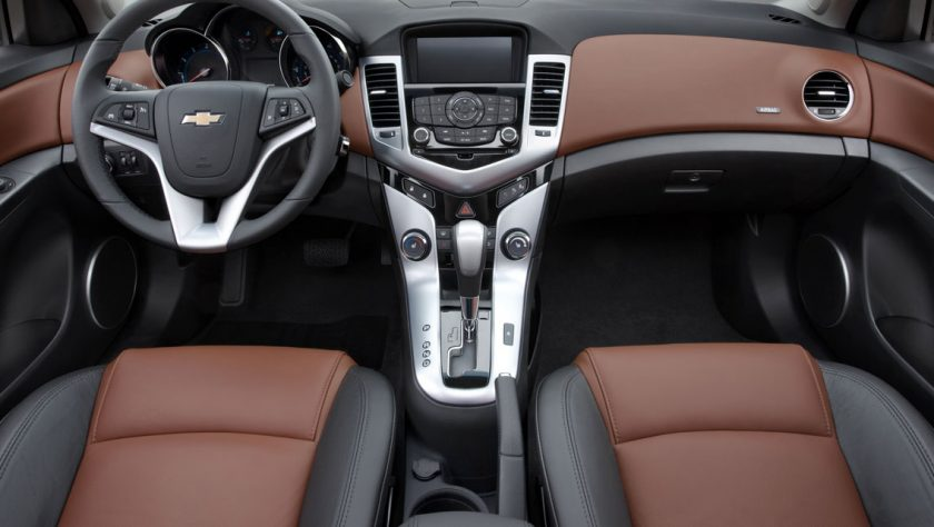 Cloth or Leather in Your Next Chevy?