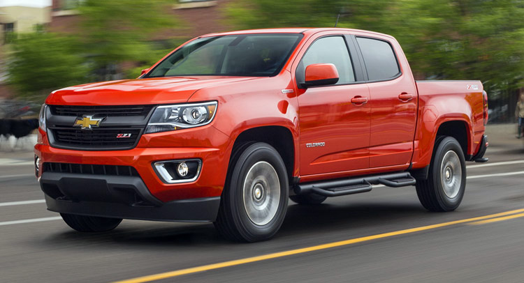 Gm And Us Army Build Chevy Colorado Hydrogen Fuel Cell Vehicle