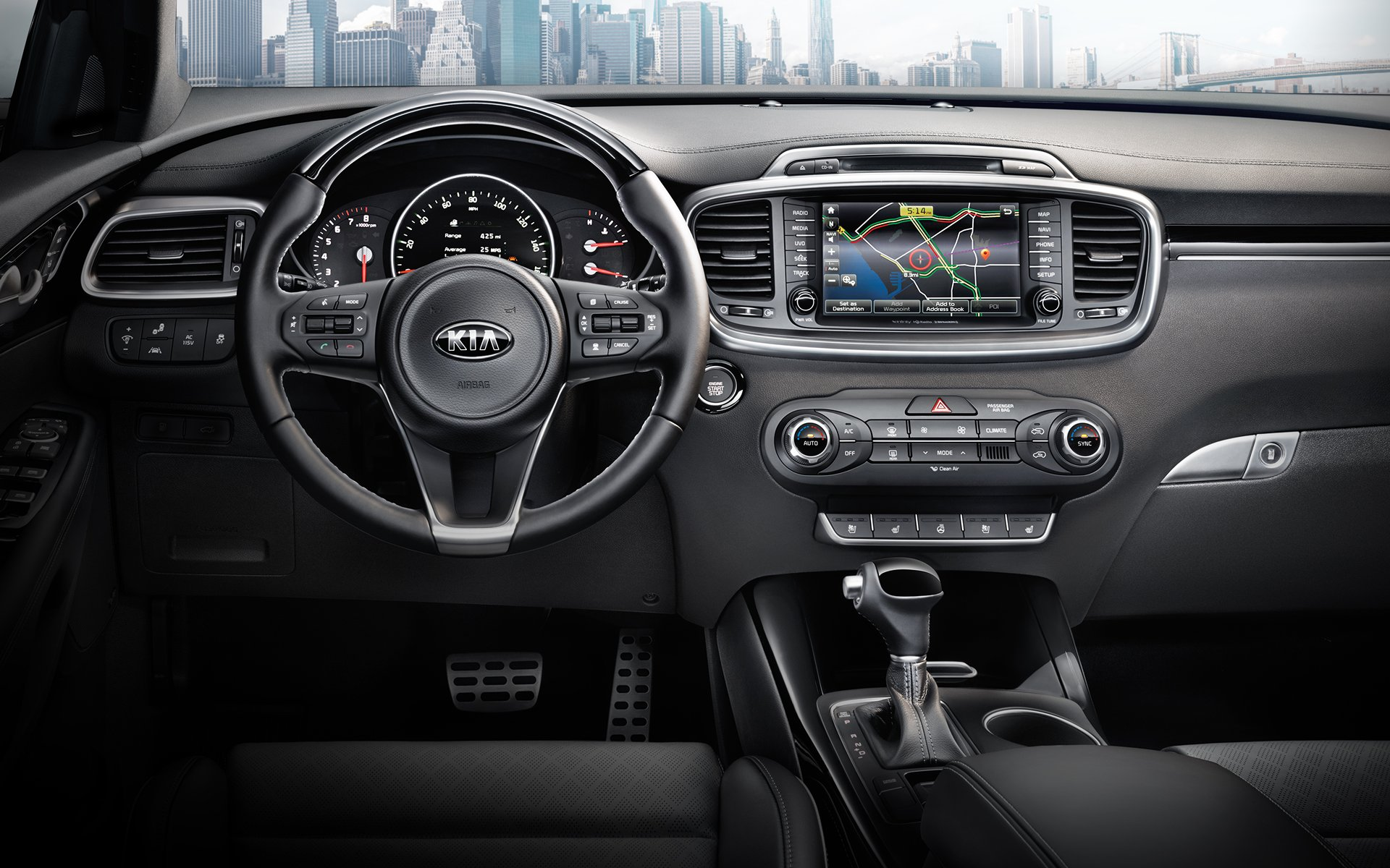 2016 North American Truck Of The Year Nominee Kia Sorento Silverado Center Console Wiring Harness Interior