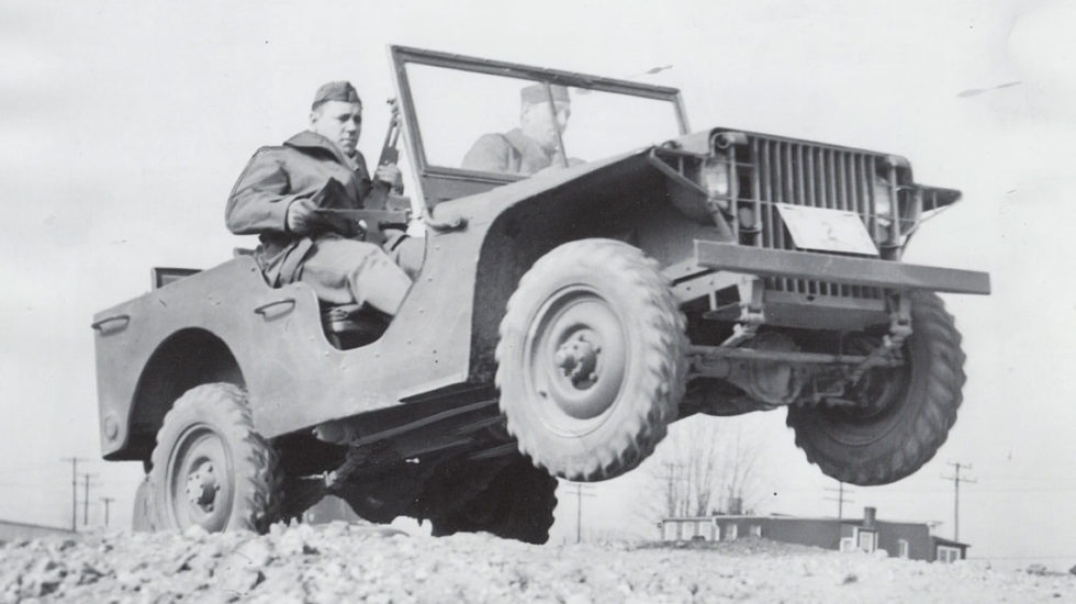 old Jeep Wrangler