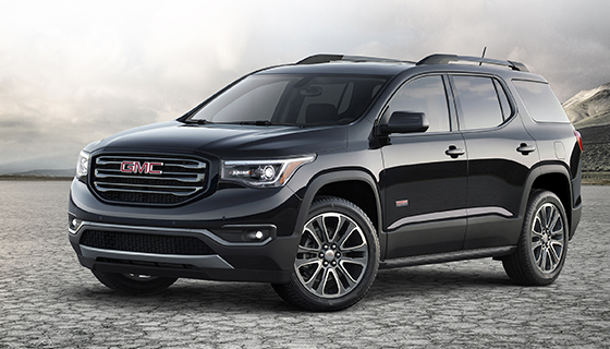 See it here First! All-New Redesign: 2017 GMC Acadia