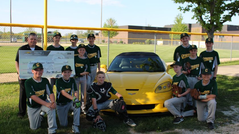 Pat McGrath Chevyland Supports the Cedar Rapids, Iowa Junior Warriors Baseball Team
