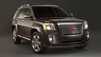Front design of the new Terrain Denali