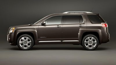 Side Design of the Terrain Denali