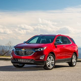 The all-new 2018 Chevrolet Equinox is a fresh and modern SUV siz