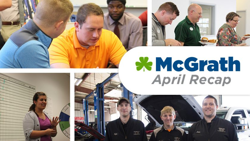 McGrath April Recap
