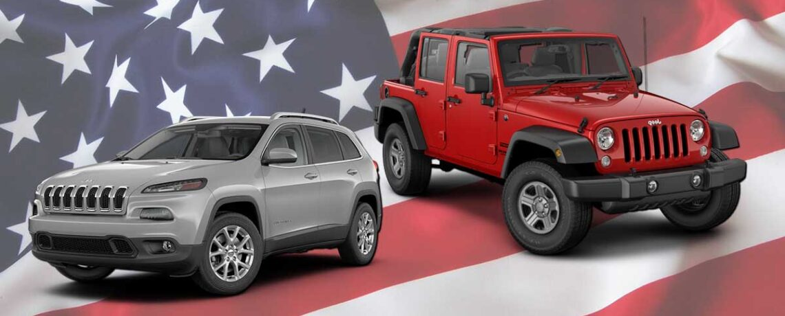 Wrangler and Cherokee
