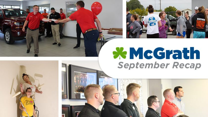 McGrath September Recap