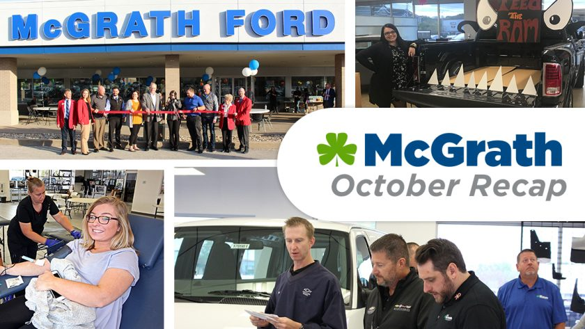 McGrath October Recap