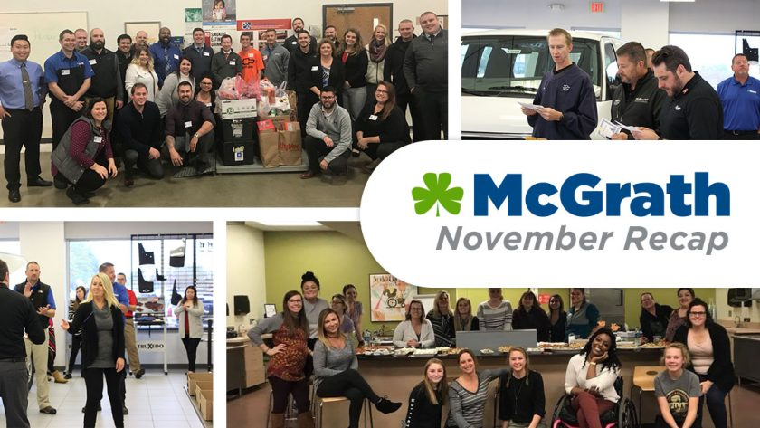 McGrath November Recap
