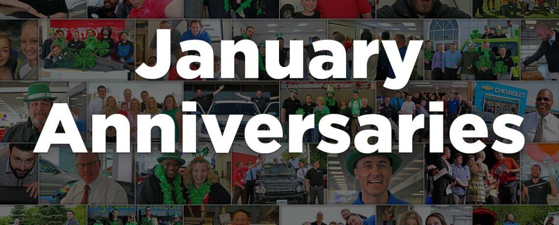 January Anniversaries