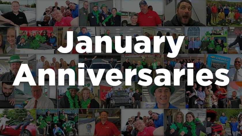 January Anniversaries