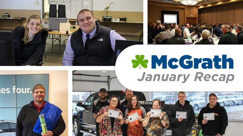 McGrath January Recap