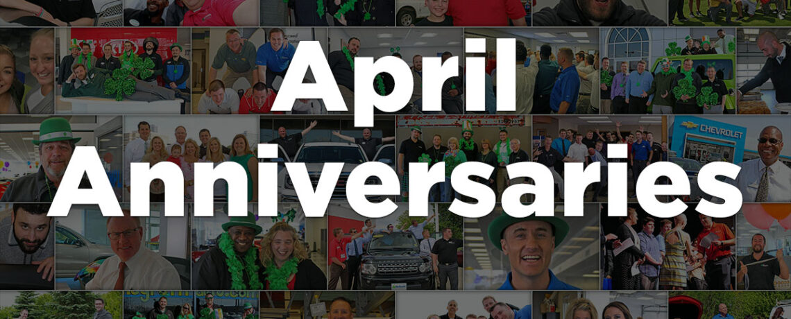 April Anniversaries