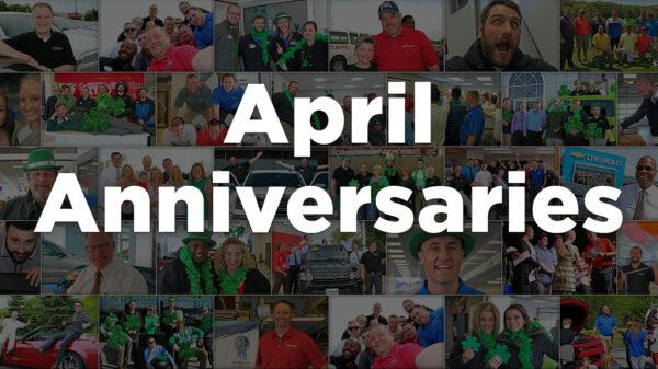 April Anniversaries