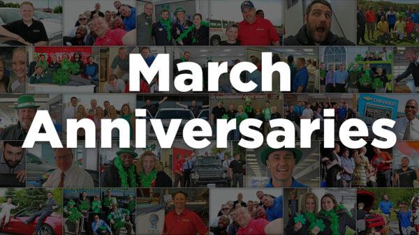 March Anniversaries