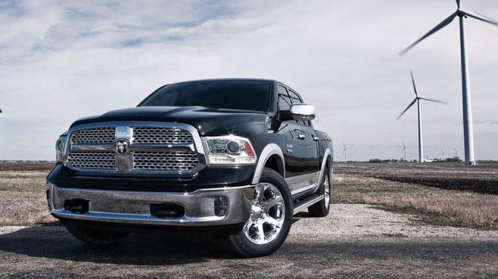 Ram 1500 in the country