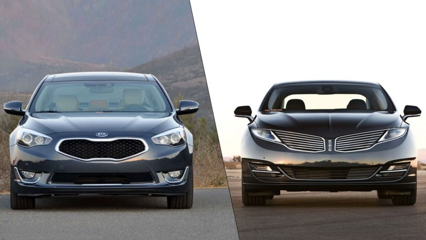 Kia Cadenza VS Lincoln MKZ