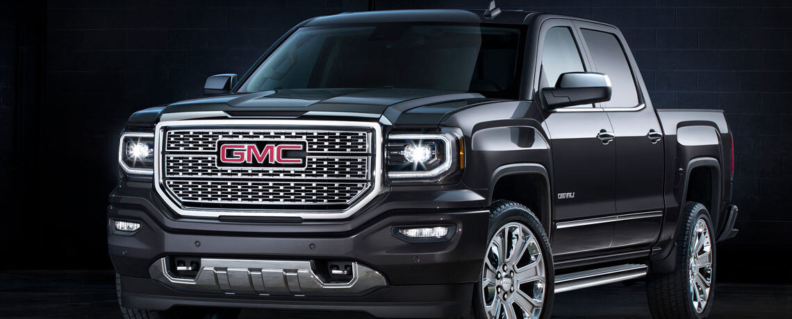 GMC Sierra Denali on display