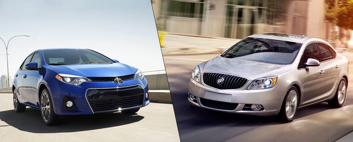 Toyota Corolla VS Buick Verano
