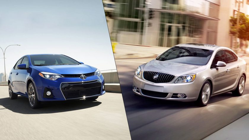 Car Comparison: 2014 Toyota Corolla VS 2014 Buick Verano