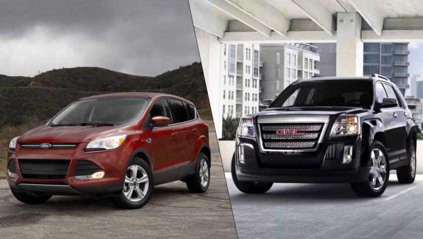 2014 Car Comparison: Ford Escape vs GMC Terrain