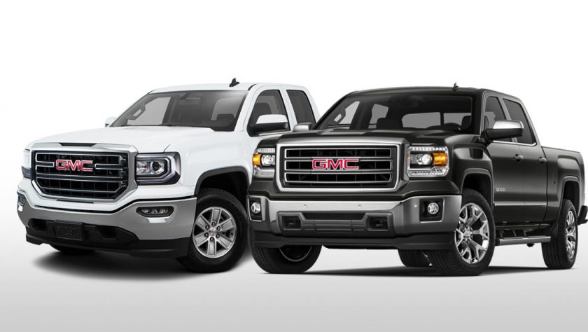 Trim Comparison: GMC Sierra SLE vs GMC Sierra SLT