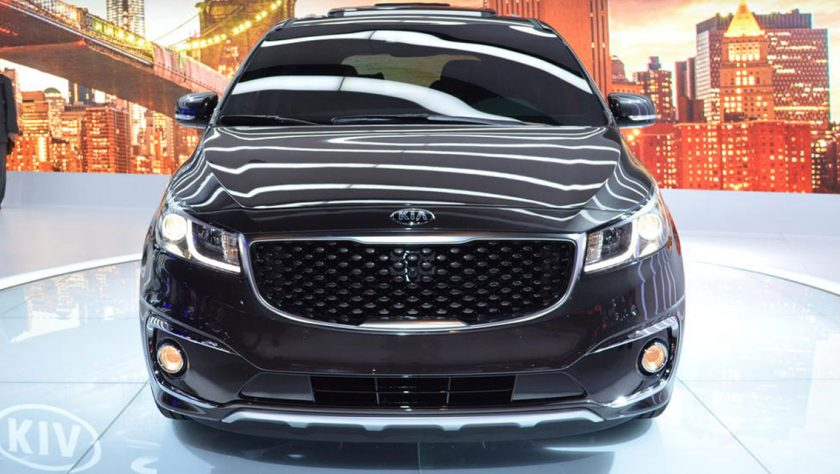 Kia Debuts 2015 Kia Sedona in New York City