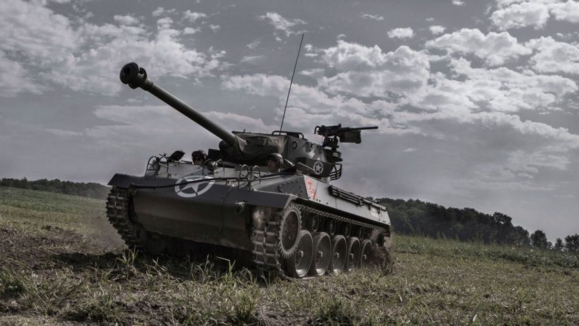 Buick M18 Hellcat on field