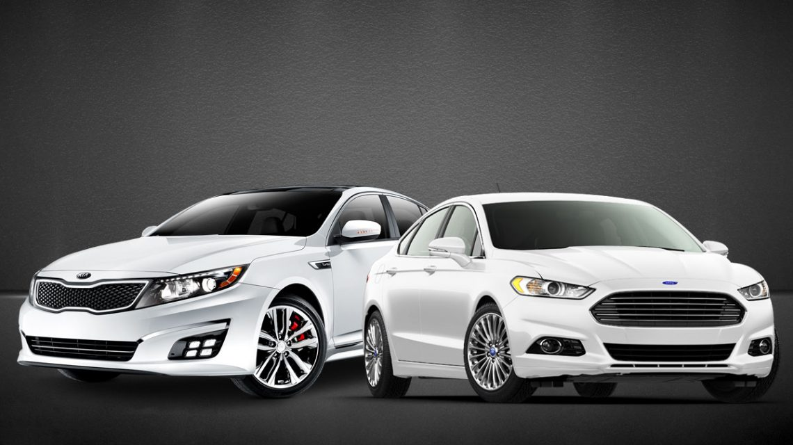 Ford Fusion and Kia Optima