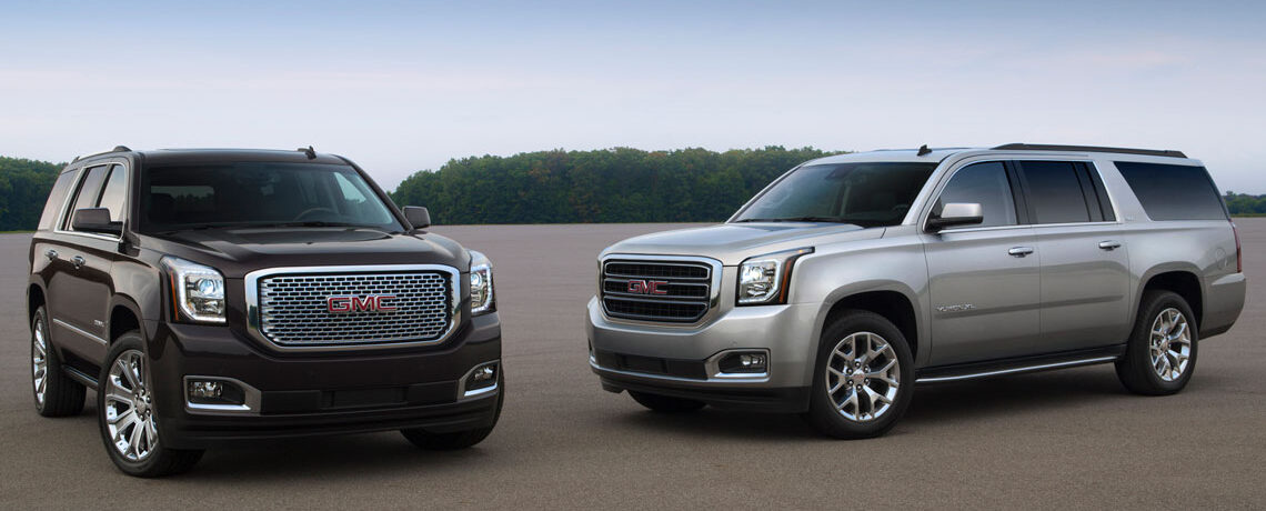 GMC Yukon and Yukon XL