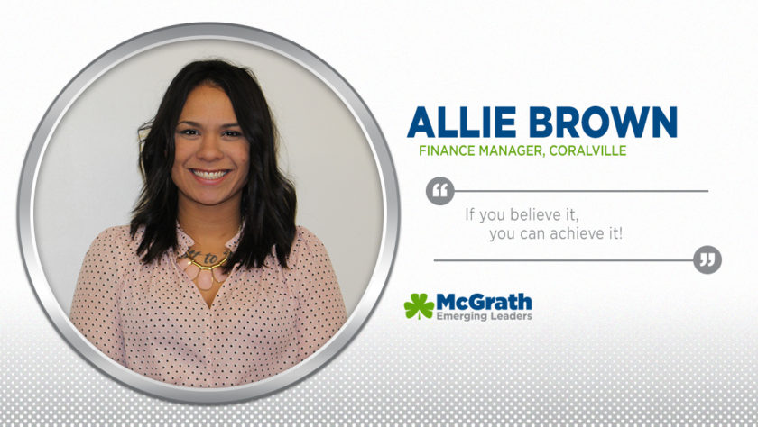 Meet Emerging Leader Allie Brown!