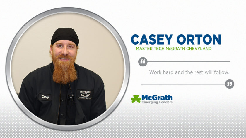 Meet Emerging Leader Casey Orton!