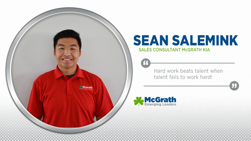 Meet Emerging Leader Sean Salemink!