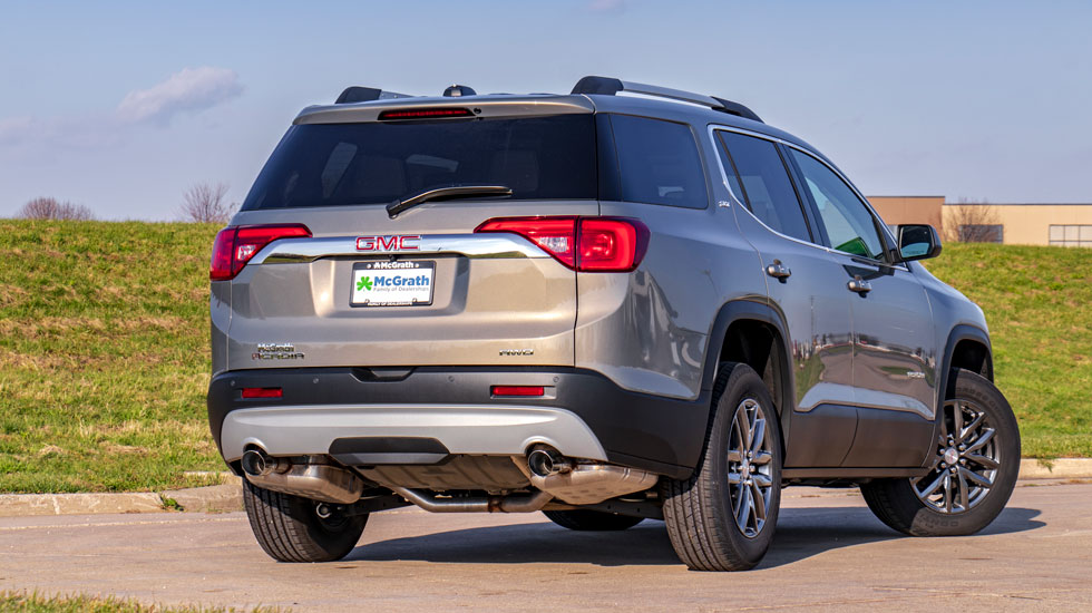 Liftgate on the GMC Acadia
