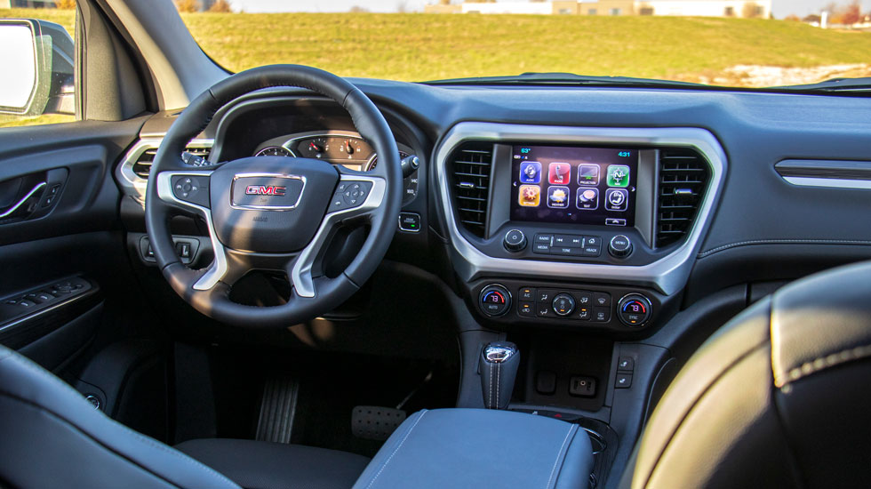 Inside the 2019 GMC Acadia