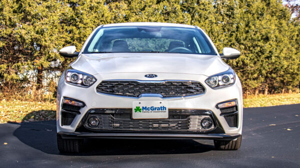 Front of the 2019 Kia Forte
