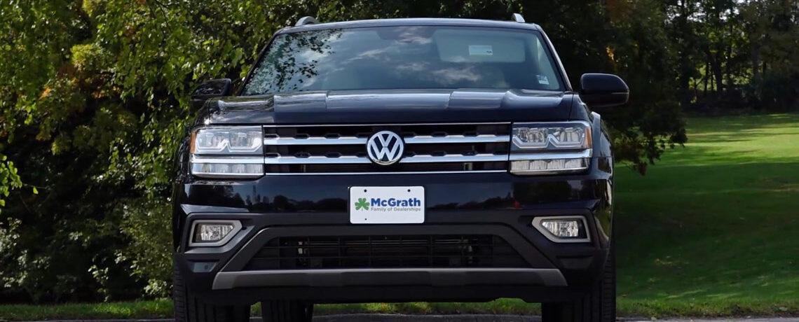 2019 black Volkswagen Atlas