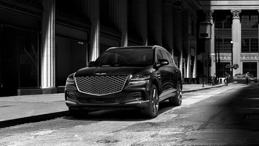 2021 Genesis GV80 Black and White